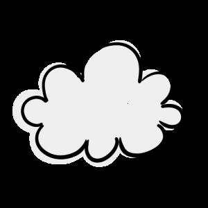 雲のイラスト素材(フリー)