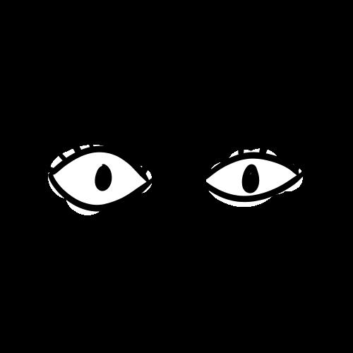 目のイラスト無料素材