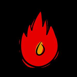 火のイラスト無料素材