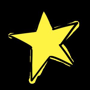 星のイラスト無料素材