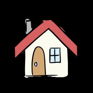 家のいらすとのフリー素材