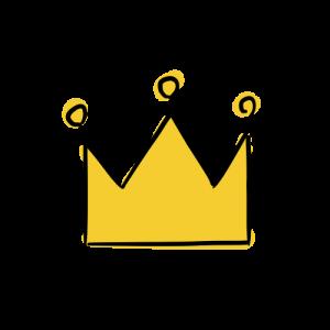 王冠のいらすとのフリー素材