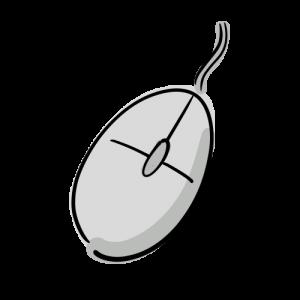 マウスのフリーイラスト素材
