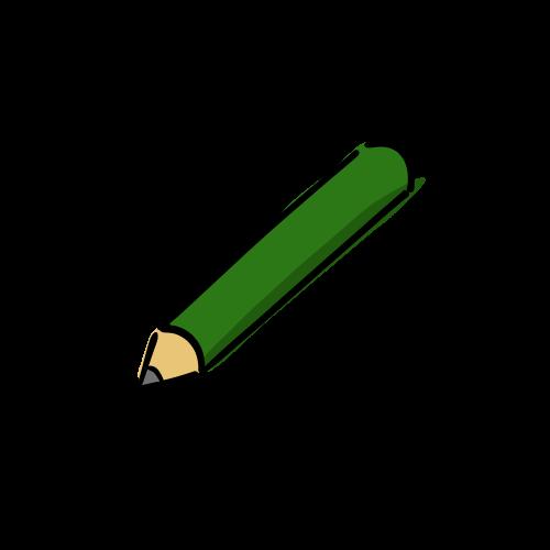 鉛筆のイラストの無料素材