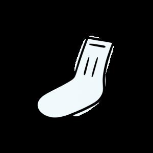 靴下のイラストの無料素材