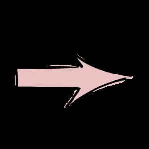 ピンク矢印の絵のフリー素材