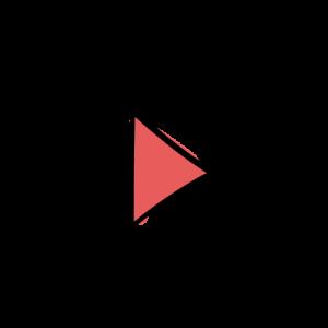三角矢印の絵のフリー素材