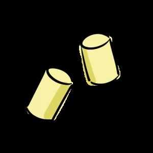 耳栓の無料イラスト素材