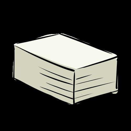 紙の束の無料イラスト素材