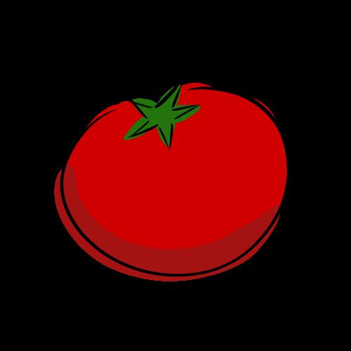 トマトの無料イラスト素材