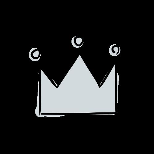 銀の王冠の絵のフリー素材