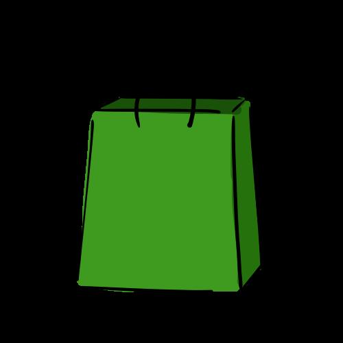 紙袋のフリー素材(無料)