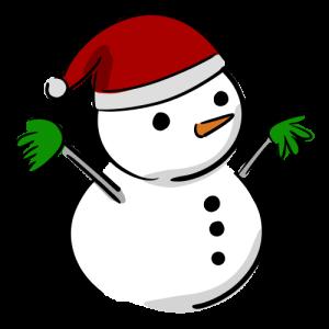 雪だるまのイラスト素材(フリー)