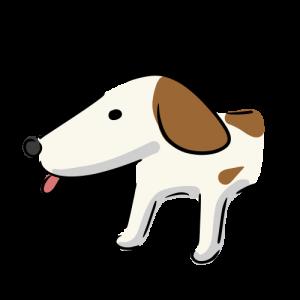 犬のイラスト素材(フリー)