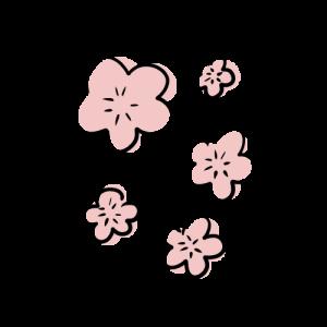 桜の花びらのフリーイラスト素材