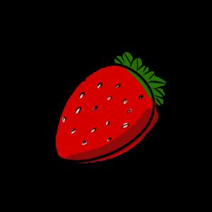 苺の絵のフリー素材