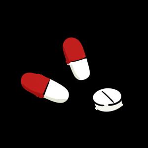 薬のイラストのフリー素材