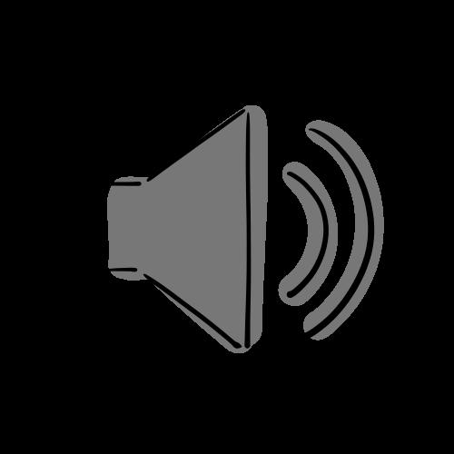 音量マークのイラストのフリー素材