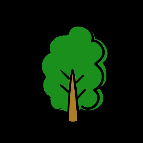 木の無料イラスト素材