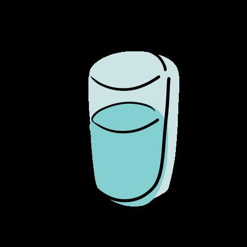 水のフリーイラスト素材